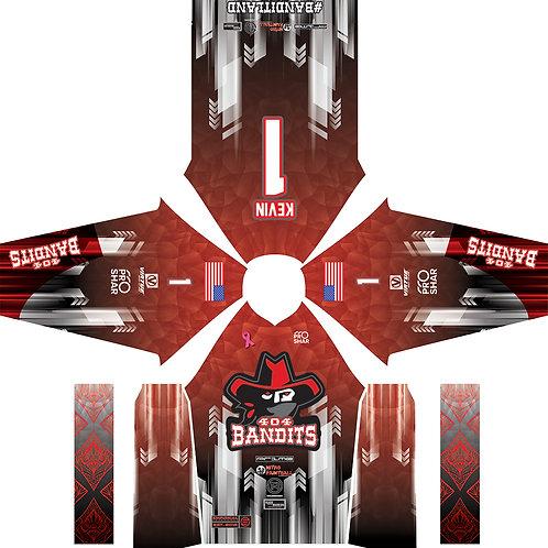 404 Bandits - Ignite Red 4