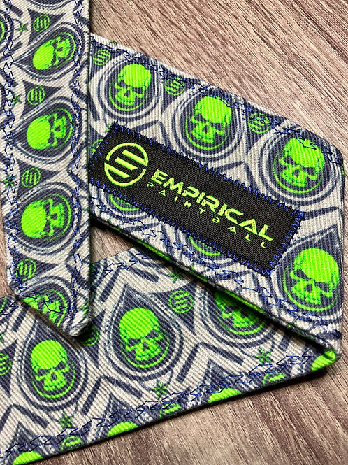 Gray and Lime Green Headband - Epic Series