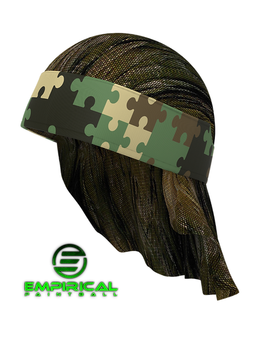 Paintball Headwrap - Paintballers for the Puzzle Windigo Camo - Empirical Paintball