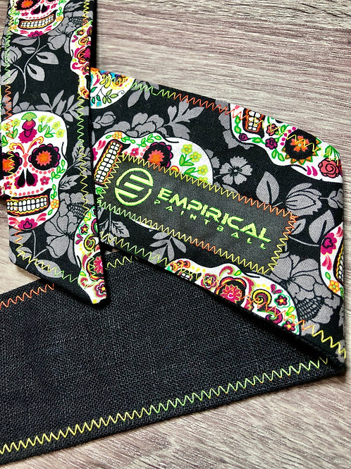 Sugar Skull Headband - 🍊🍋 Citrus Stitching