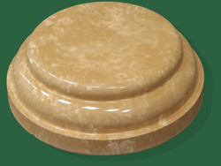 Основание колонны круглое