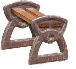 Скамейка без спинки №2