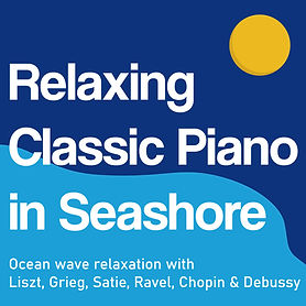 Relaxing Classic Piano in SeashoreCOVER.