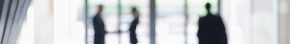 Blurred image of business people