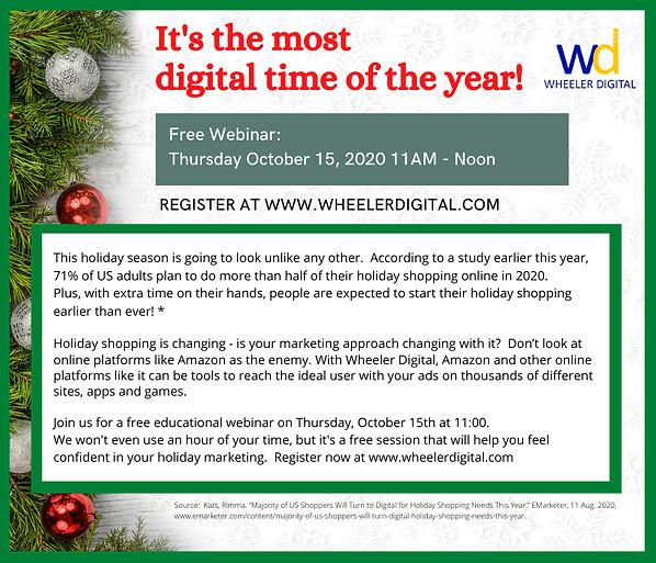 Wheeler Digital - Holiday Shopping is Go