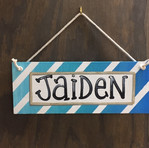 Name Hanging Sign - $35