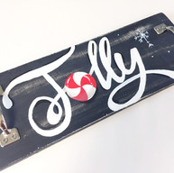 """Jolly mini serving tray (measures 5""""x 16"""")"""