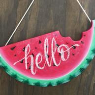 Watermelon Door Hanger - $35