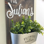 Personalized Wall Planter - $45