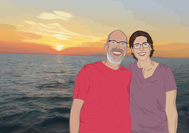 Commissioned Anniversary Present-- Adobe Illustrator
