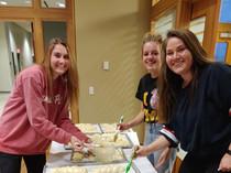 Preparing to Bake the Challah