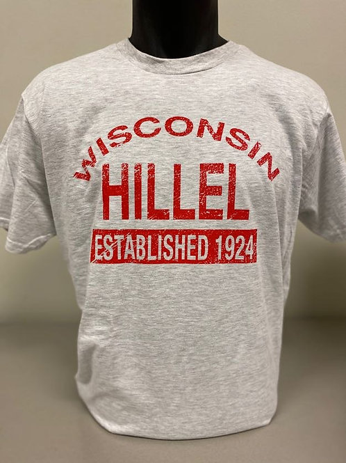 Wisconsin Hillel Est. 1924 T-Shirt