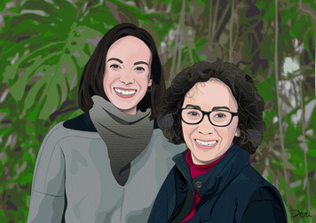 Commissioned Mother's Day Graphic-- Adobe Illustrator