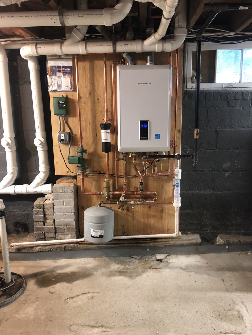Combi Boiler & Tankless Water Heater