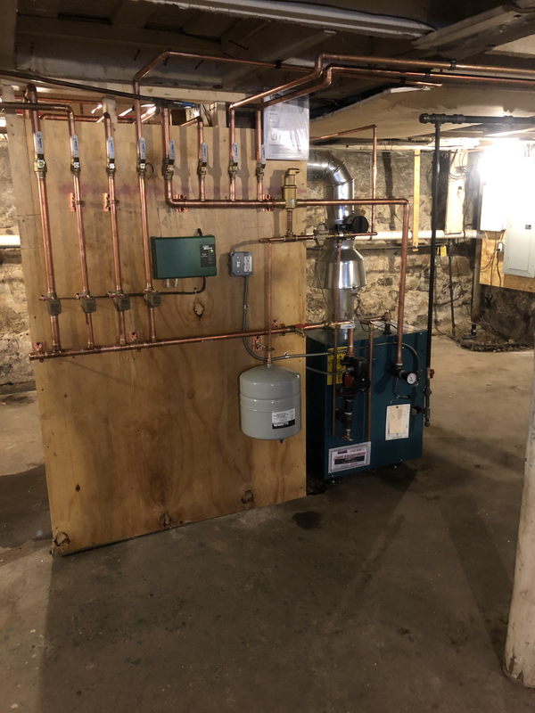 New Heating System Install