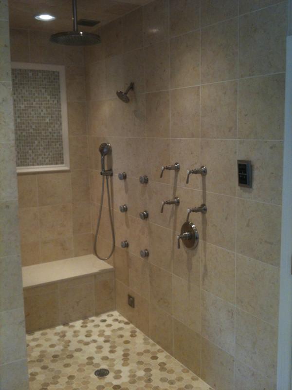 Walk-in Master Shower