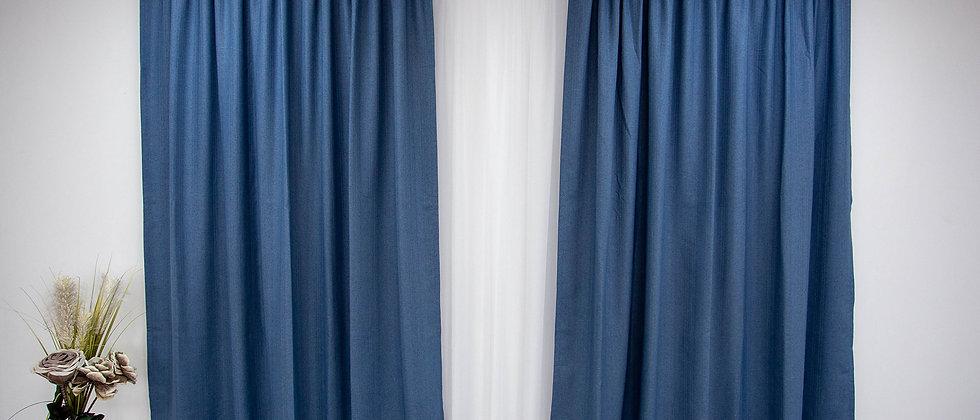 Draperie  New Rustic Albastru