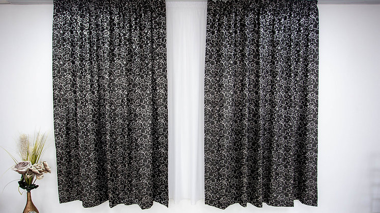 Draperie RS Collection Negru