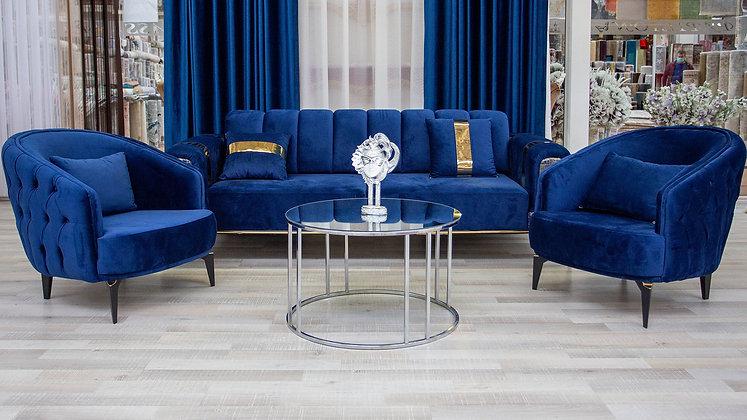 Set Canapea Bel-Air Blue Velvet