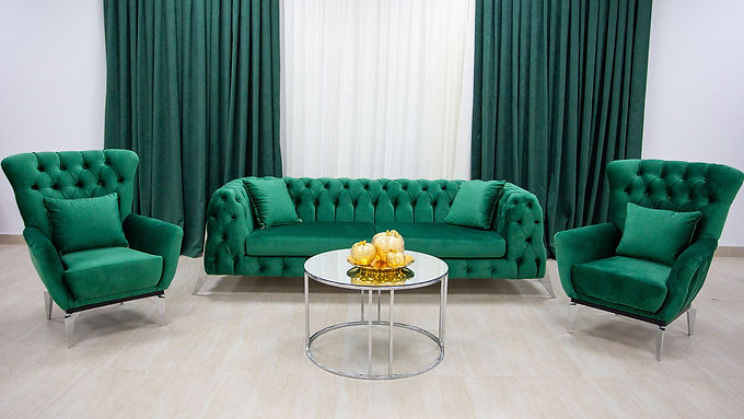Set Canapea Bronx II Emerald Green