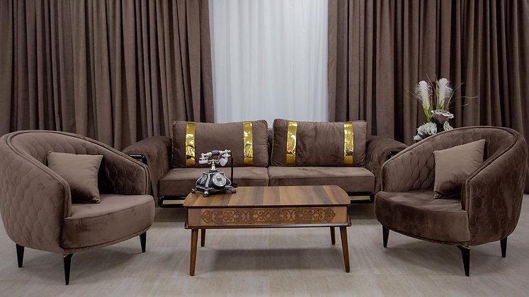 Set Canapea Bel-Air Umber Brown