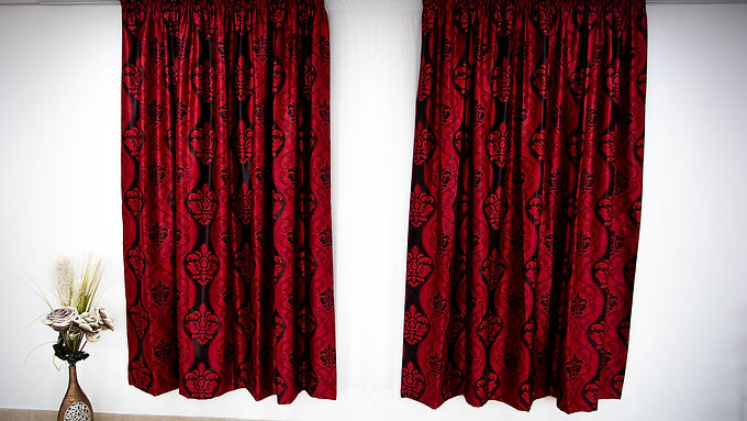 Draperie BKJ Collection Roșu