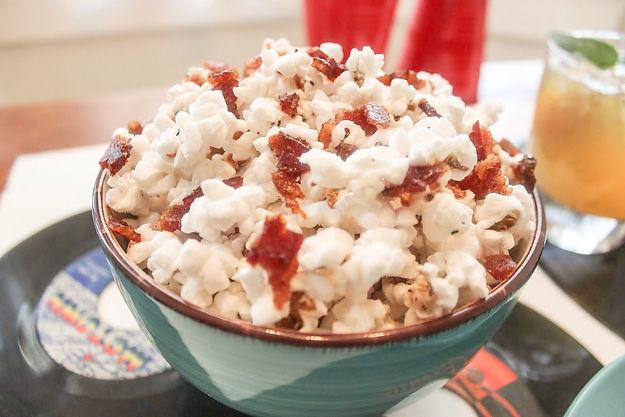 Bacon flavored Popcorn