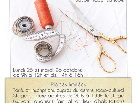 Stages d'automne - Couture/yoga