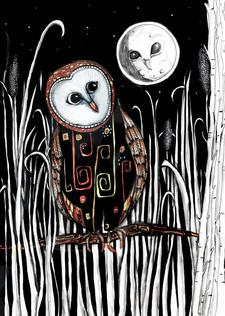 Owl Moon A4 $10