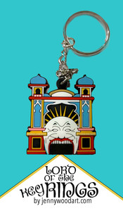 Luna Park Key Ring