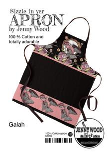 Galah apron by Jenny Wood