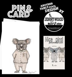 Kevin Koala lapel pin set