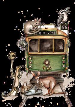 Melbourne tram chaos