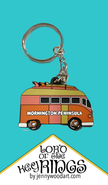 Mornington peninsula key ring