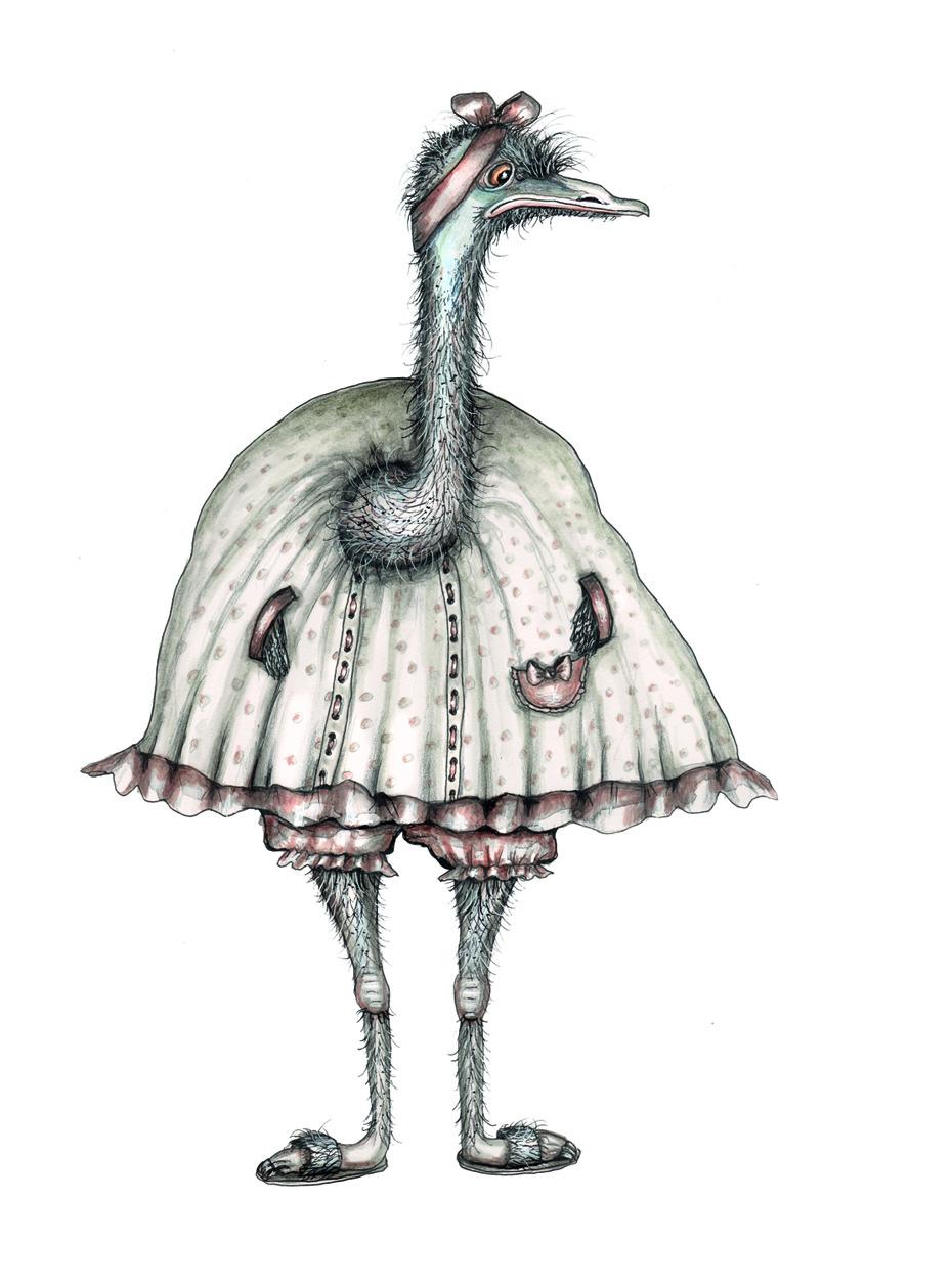 Aunt Edna Emu