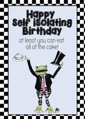 self isolating frog
