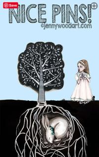 Tree lapel pin