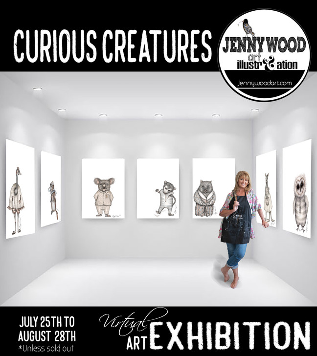 3D Virtual art exhibition July 25th to August 28th!