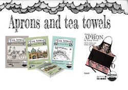 Aprons and tea towels