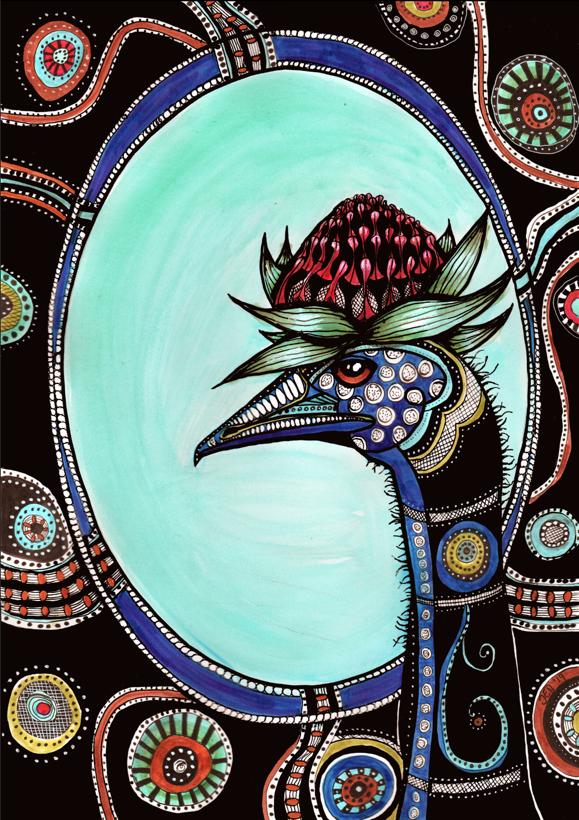 Emu glam