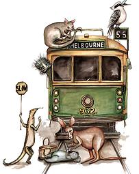 Melbourne Tram Jenny Wood