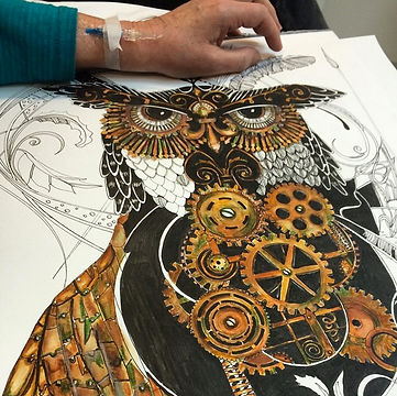 Chemotherapy while drawing