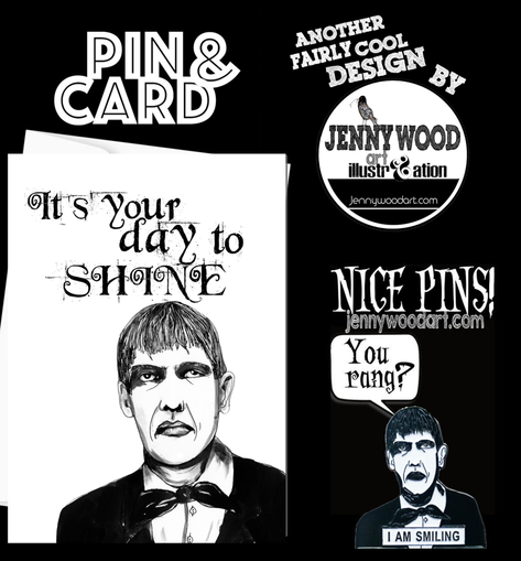 Lurch card and pin $12