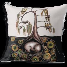 Wombat cushion cover