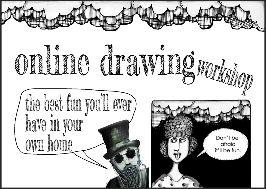 Online drawing workshops