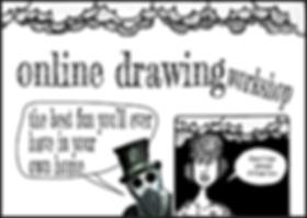 Online drawing workshops