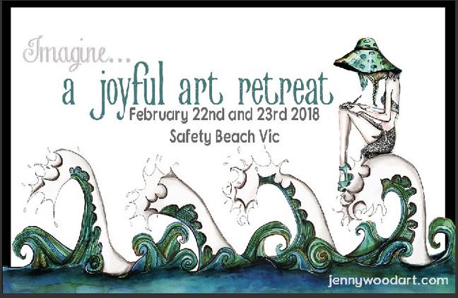 Imagine... a joyful art retreat