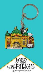 Flinders street key ring