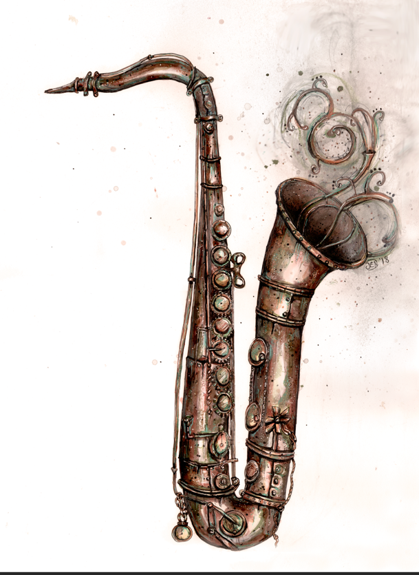 Steampunk sax