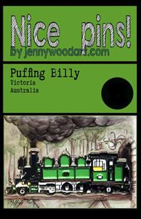 Puffing Billy enamel pin